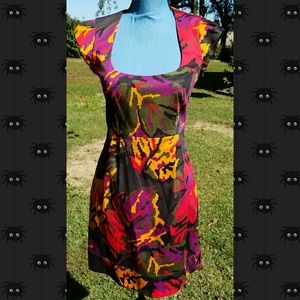 French connection cap sleeve dress size 4